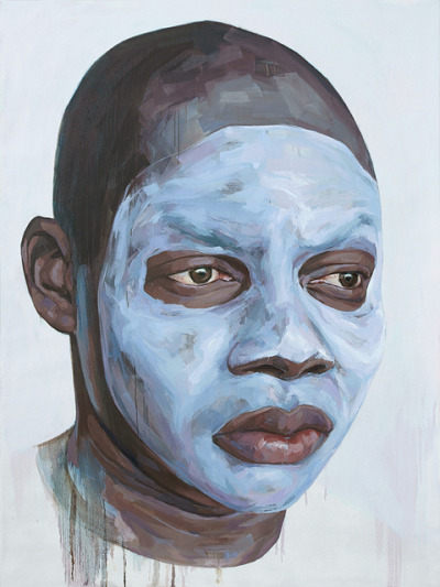 whiteface, no. 2 by casperverborg on Flickr.oil on canvas, 200 x 150 cm, 2010-2011