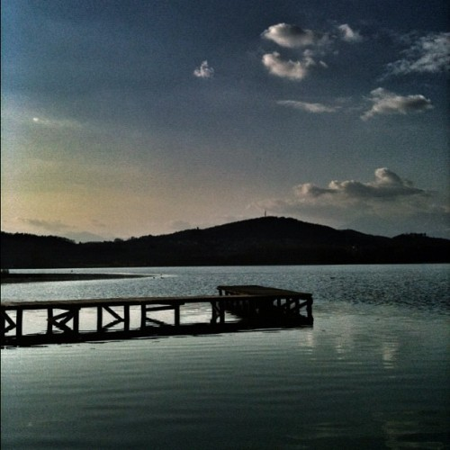 #clouds in #water and #sky  (Scattata con instagram)