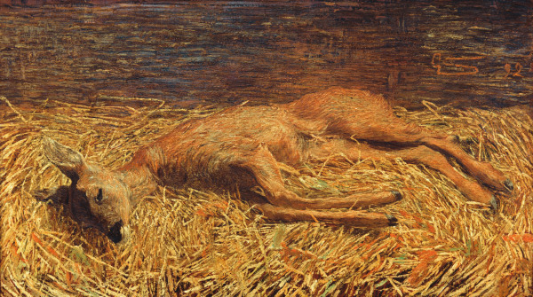 From the Italian painter Giovanni Segantini (1858 - 1899).
