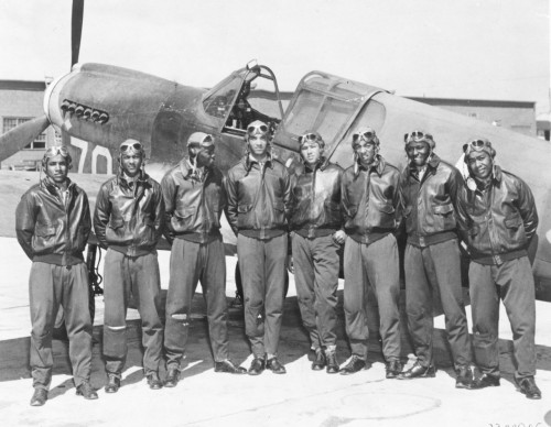 """And live the phrase Sky's the Limit.  Motherfucker."" ~Tuskeegee Airmen"