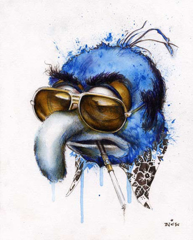 Gonzo/gonzo laughterkey:  YES
