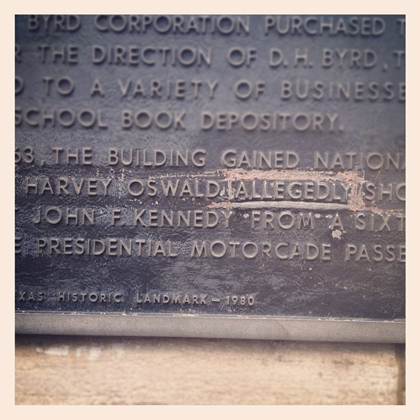 Allegedly (Taken with Instagram at The Grassy Knoll)