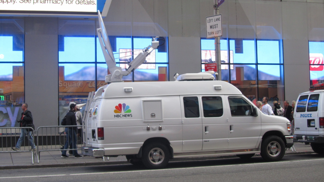 """ NBC News "" Manhattan, New York City, October 11'"