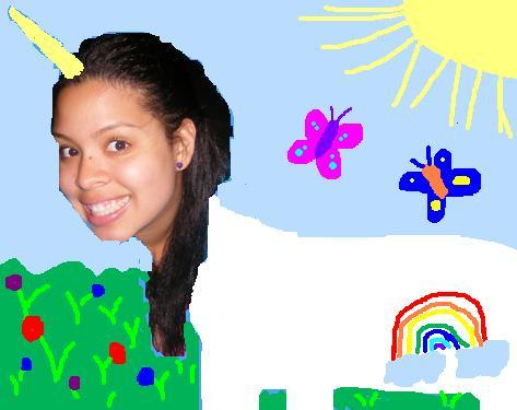 My friend, Karla, asked to be turned into a Unicorn. Isn't she pretty!? Want a doodled portrait of yourself? Send me a picture like Karla or Sydney did and a request whatever doodle design you'd like! You can submit it on the What about you!? page.