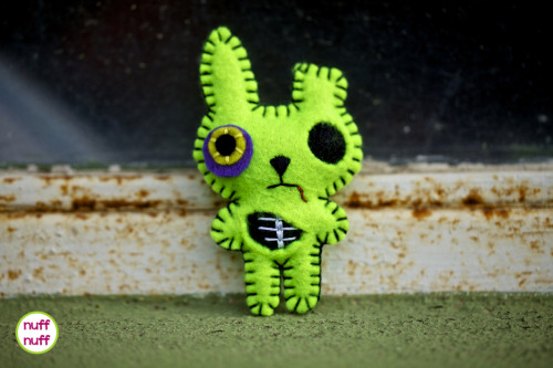 The zombie bunny is in the shop! NuffNuff
