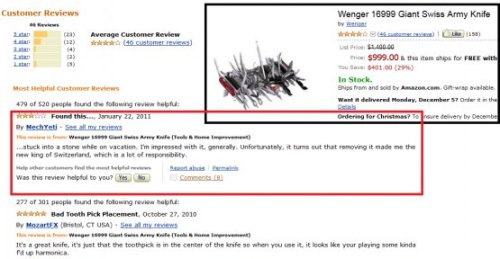 GREAT SWISS ARMY KNIFE REVIEW