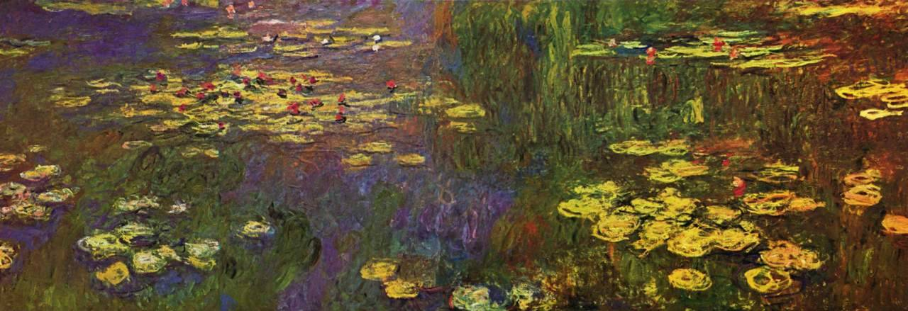 Claude Monet, Water Lilies (1926)