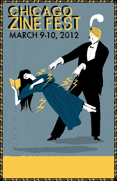DIY at Chicago Zine Fest 2012! March 9-10 (that's now!). Visit chicagozinefest.org or chicagopublishes.com for more info. Independent publishing made public.