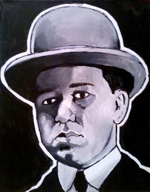 The Godfather Part II Painting - Peter Clemenza