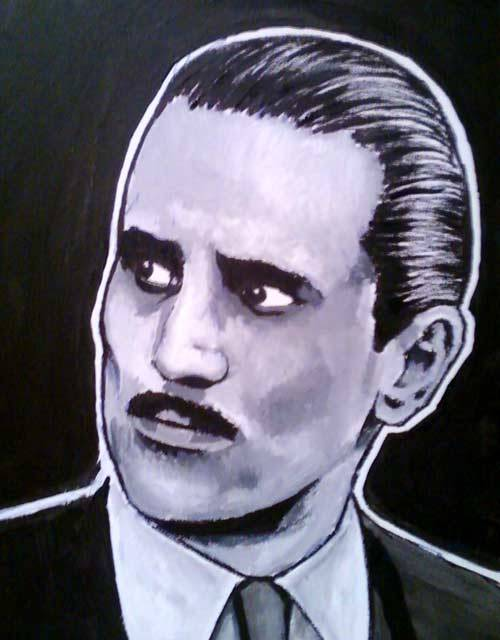 The Godfather Part II Painting - Vito Corleone