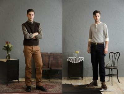"H.W.Carter & Sons – Autumn/Winter 2012 Collection A bit of press was given recently to the reboot of the H.W. Carter & Sons line – spearheaded by Greg Chapman (of Perfecto Brand/Schott NYC fame). We now have a full look at the full 32 piece apparel coming from the line which includes a belted Mackinaw and a ""Fancy Goods"" suit of garments made from Woolrich fabrics as well as a slew of shirts built tough like they did in the old days. If you enjoy the classic clothing of the American blue collar worker, consider taking a look at H.W. Carter & Sons. Made in the USA, of course. Find them at all the big hitters for this genre including: Hickorees, Smith & Butler, Unionmade, Mohawk General Store, Portland Dry Goods, Garbstore, and others…"
