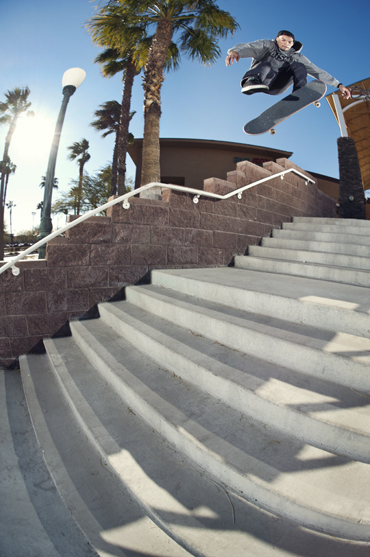 Cameo Wilson_360 Flip - Las Vegas, NV 2012 Seen on the cover of this months Concrete Skateboarding Magazine (click for link)