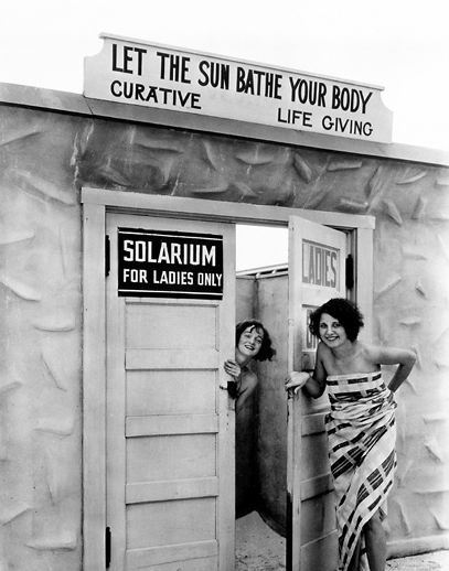 Solarium, St. Petersburg, Florida, 1929Photograph by Clifton Adams