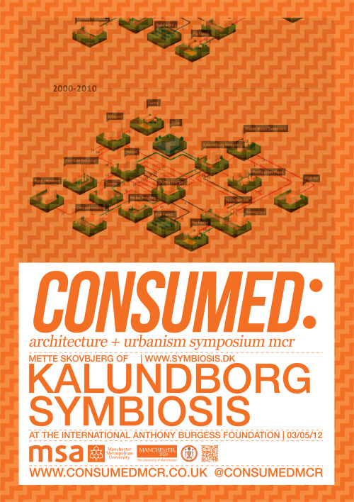 consumedmcr:  CONSUMED: SECOND SPEAKER ANNOUNCEMENT: METTE SKOVBJERG OF KALUNDBORG SYMBIOSIS INDUSTRIAL ECOSYSTEM CLOSED CYCLE http://www.symbiosis.dk/en