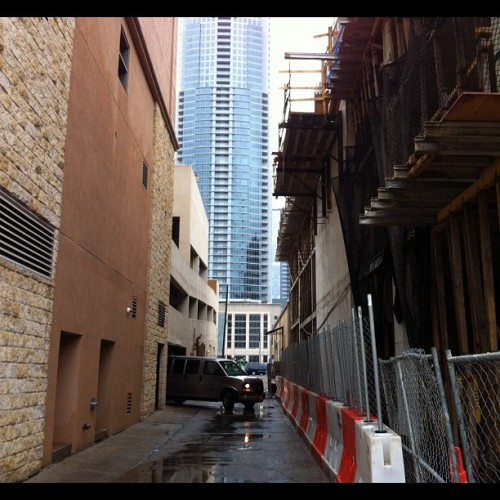 Austin Alleyways #totallyawestin #sxsw  (Taken with instagram)