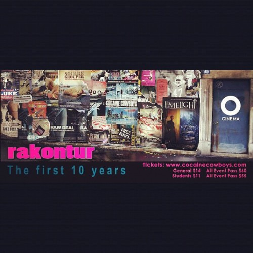 www.o-cinema.org/rakontur (Taken with instagram)