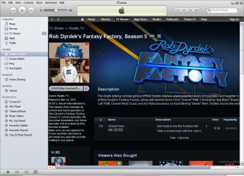 Download the FREE exclusive sneak peek on iTunes of the Rob Dyrdek's Fantasy Factory cast showing off season 5! http://bit.ly/zP1RE3