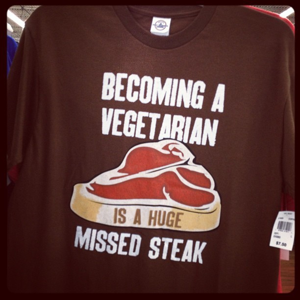 Missteak (Taken with Instagram at Wal-Mart Supercenter)