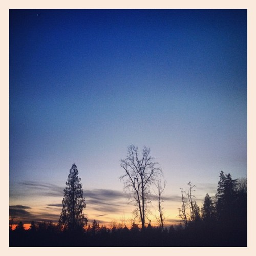 #sunset #skyscapes #iphoneography  (Taken with instagram)