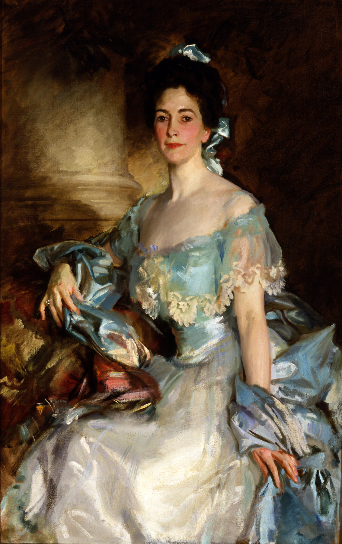 Portrait of Mrs A Lawrence Rotch, 1903, by John Singer Sargent