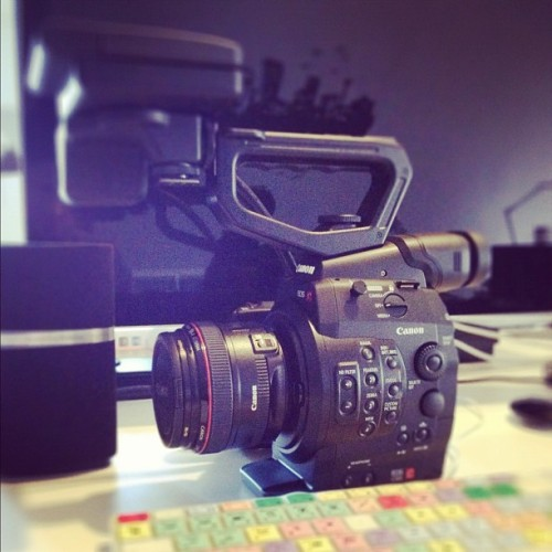 #canon #c300 #boom (Taken with instagram)