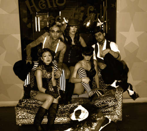The old crew. And our beloved Diva RIP <3
