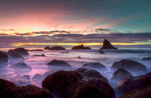 Pacifica Sunset (by tobyharriman)