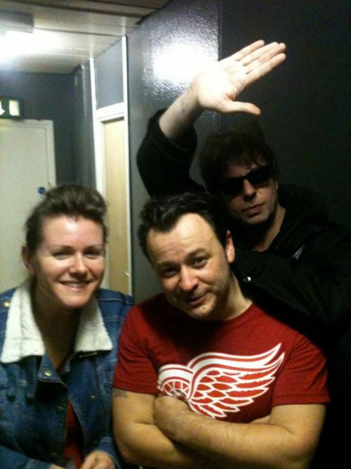 george138:  Ian McCulloch with James Dean Bradfield