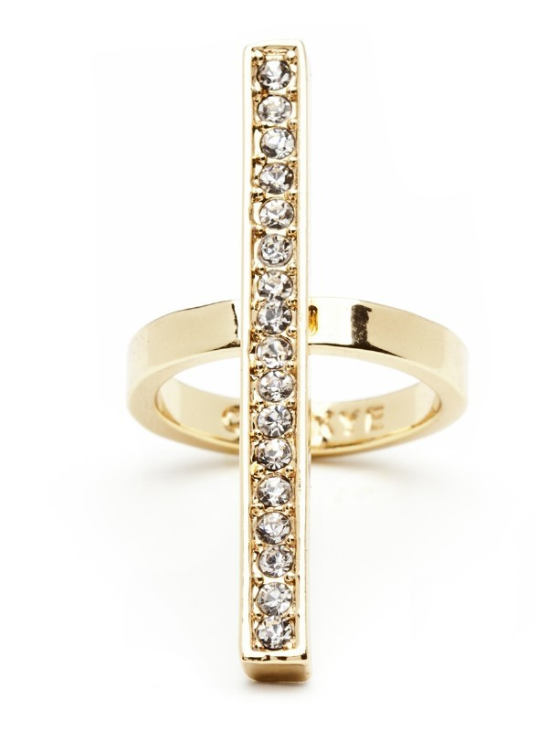 CC Skye Whitney Pave Line Ring Price:  $97.00