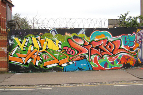 Bristol Graffiti by The Moog Image Dump on Flickr.