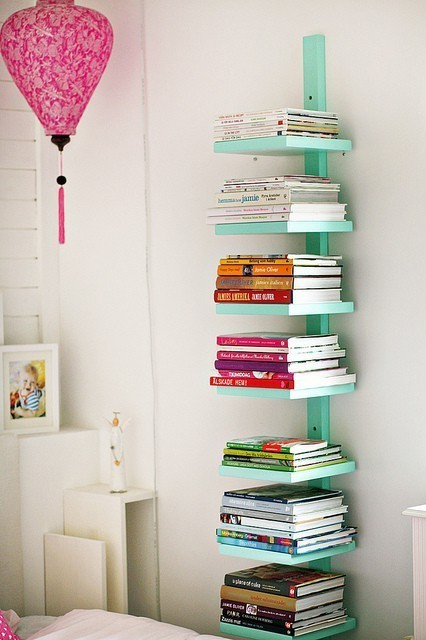 lookingstarsbarf:  book shelf I Like