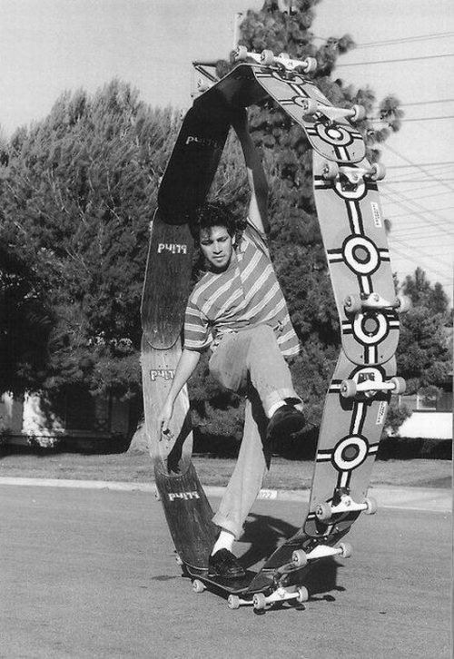 hazor:  Mark Gonzales, 'Circle board'