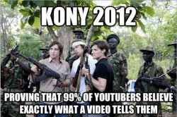 Stop Kony? Why isn't there a Stop Musevini movement as well? It's well and good that there's attention being paid to the heinous crimes that Kony perpetrated in Uganda, but why choose to try to go after him now? It'd be great to see him brought to justice for all that he's done, but the means by which Invisible Children have gone about doing this are… questionable and raise concerns.