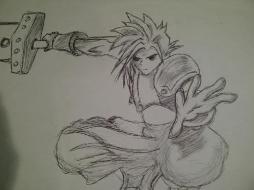 Chaizzer Art: Cloud Strife (Final Fantasy VII)