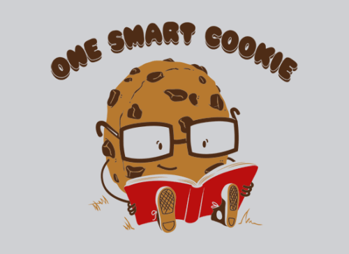 wickedclothes:  One Smart Cookie Sold at SnorgTees!