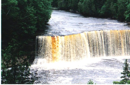 Tahquamenon Falls at Paradise, MI. One of my favorite Michigan places.
