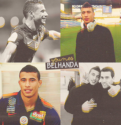 4 pictures of: younès belhanda (requested by kay)