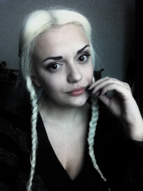 Blonde Wednesday Addams
