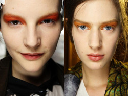 oystermag:  Top 5: FW12 Beauty Looks