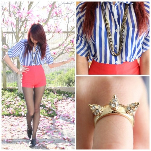 I love today's weather, soo nice☀!! This outfit will be live on my channel tomorrow…link is on my IG profile. #ootd #outfitoftheday #lookbook #fashiondiaries #fashion #style #ig #instagrammers #iphonesia #iphonegraphy #instahub #youtube #me #nofilter  (Taken with instagram)