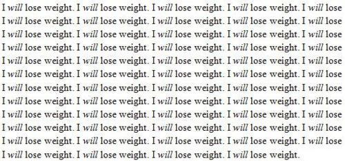 my-bulimic-nightmare:  I have to lose weight.