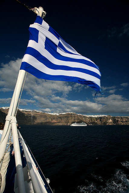 | ♕ |  Into the greek chart  | by © Katka Samková