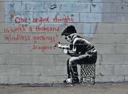 lionskeleton:  Top 10 Banksy Pieces