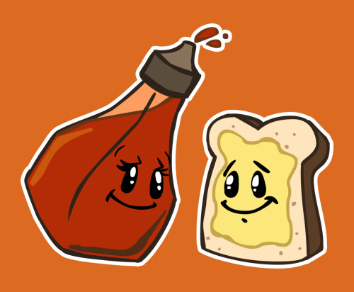 I will draw your favorite food(s) as a cartoon, only on fiverr.com!