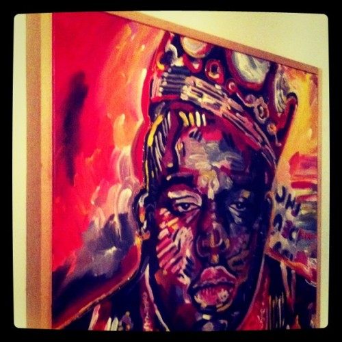 Biggie Smalls is the illest.  (Taken with instagram)