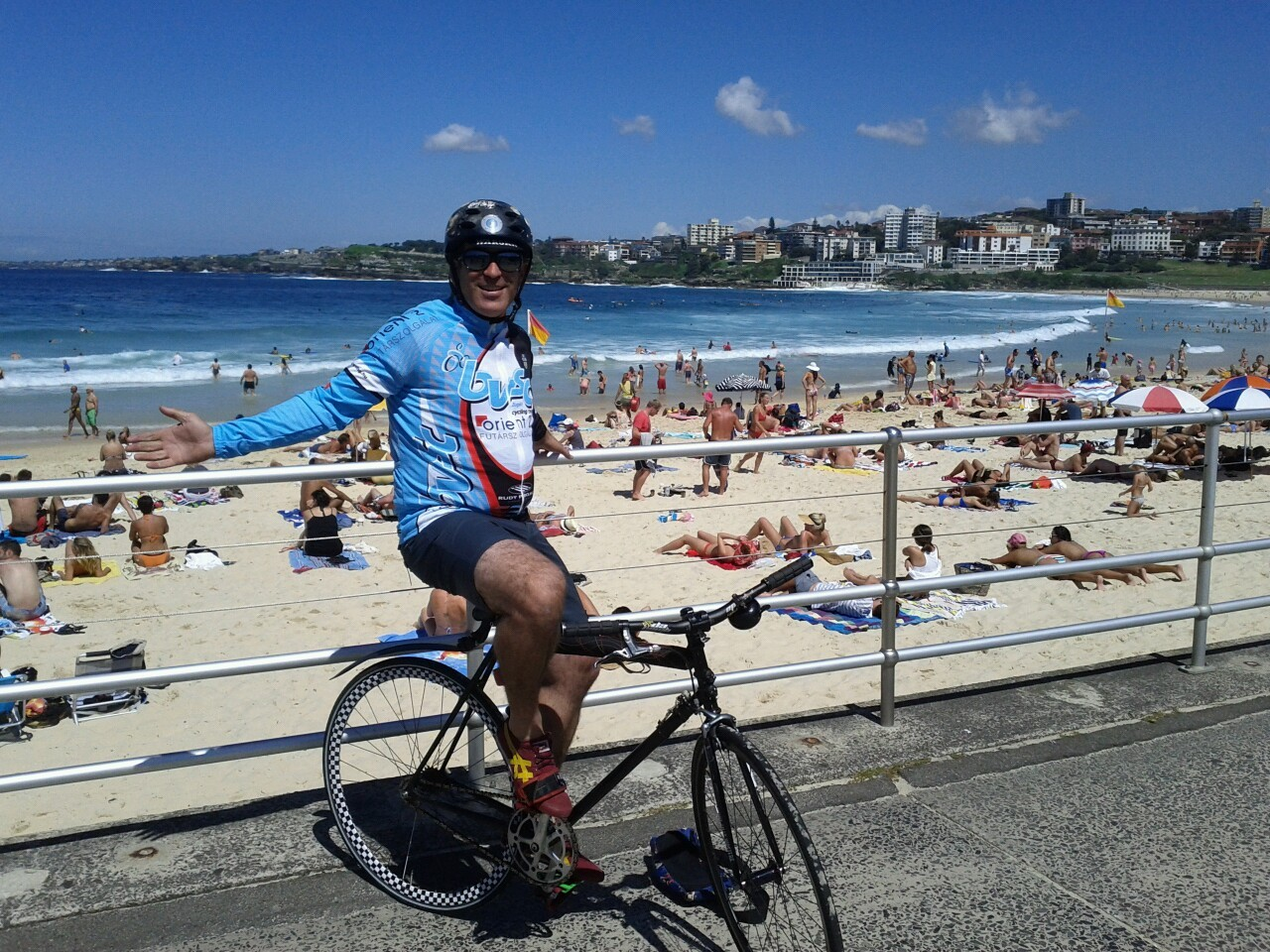 BVSC at Bondi Beach.