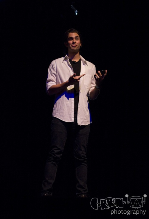 March 9: @JoeyRichter at the Joe Moses One Man Showses in Los Angeles © 2012 Corrine Tom