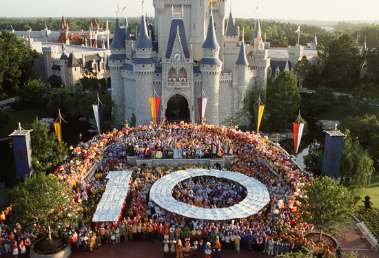 """Walt Disney World 10th Anniversary"" (Vintage)Source: BestofWDW"