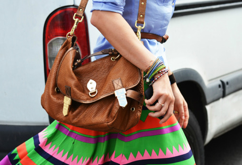 beautiful colors… I and THAT purse.