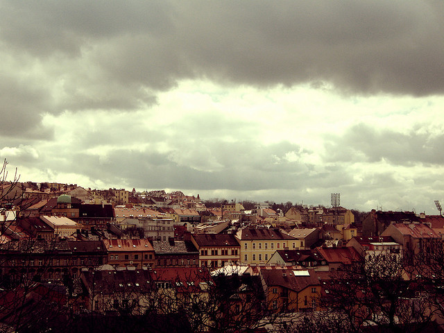 | ♕ |  storm approaching - Prague  | by © Ivana Z.